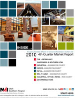 4th2010report St. George Utah Commercial Real Estate Market Reports