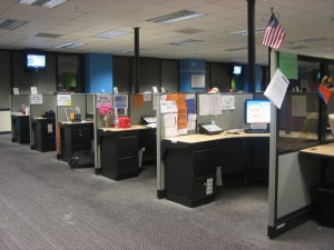 cubicles 300x225 How to Decide Where To Locate Your New Office